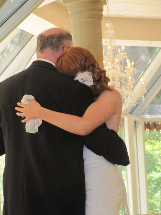 me and dad wedding